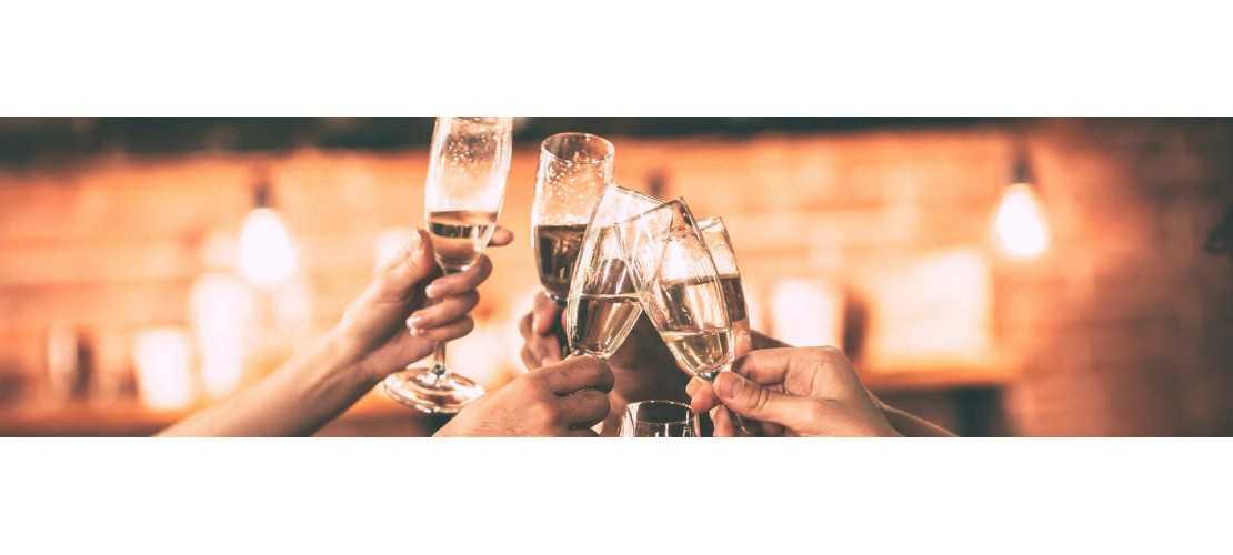 Un large choix de champagne brut, rosé, grand cru chez le Gros caviste